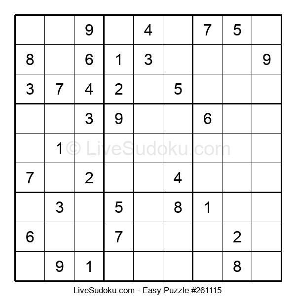 Beginners Puzzle #261115