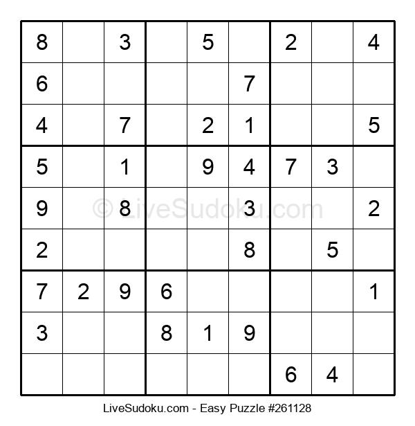 Beginners Puzzle #261128