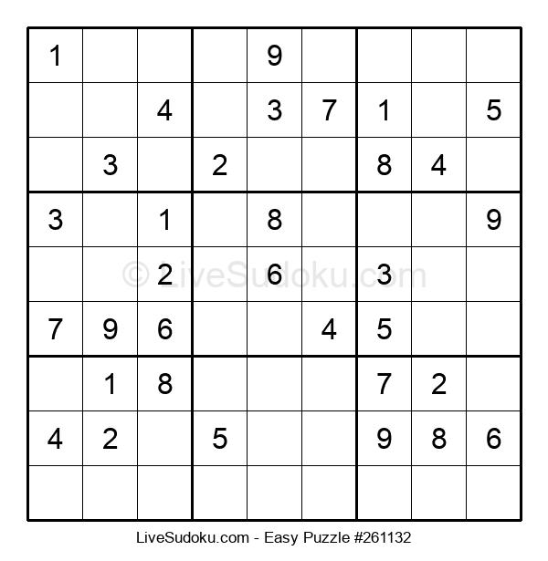 Beginners Puzzle #261132