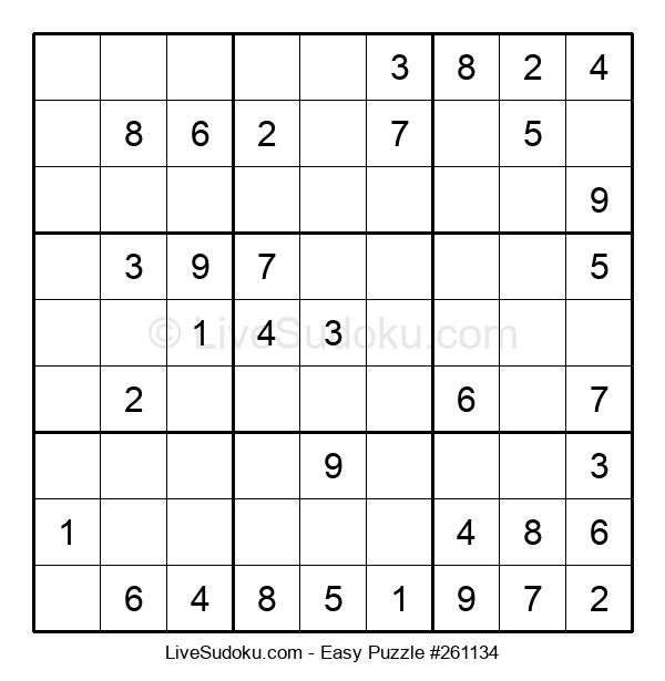 Beginners Puzzle #261134