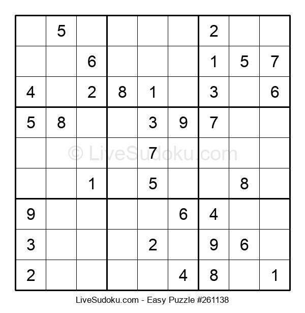 Beginners Puzzle #261138