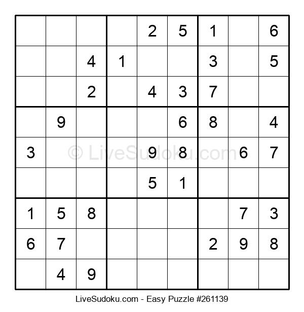 Beginners Puzzle #261139