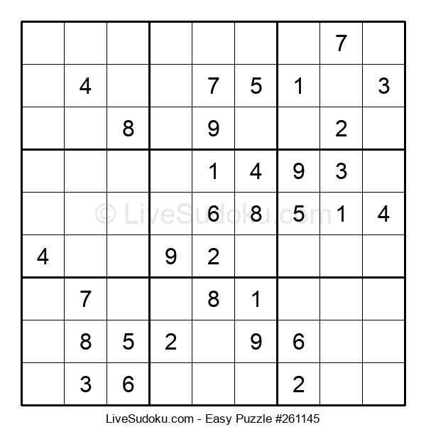 Beginners Puzzle #261145