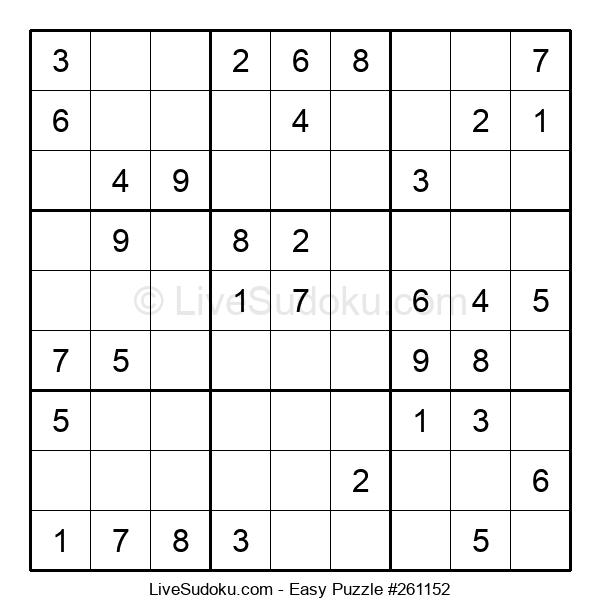 Beginners Puzzle #261152