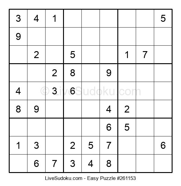 Beginners Puzzle #261153