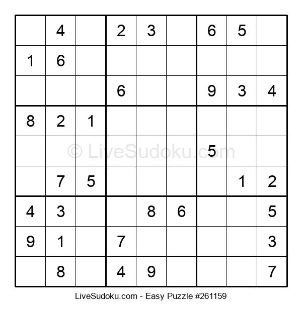 Beginners Puzzle #261159