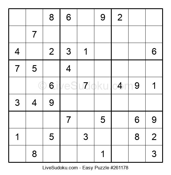 Beginners Puzzle #261178
