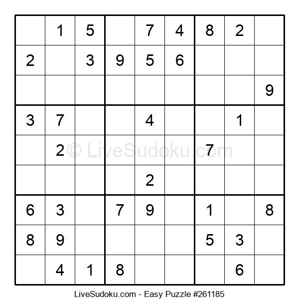 Beginners Puzzle #261185