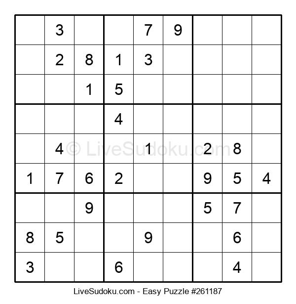 Beginners Puzzle #261187
