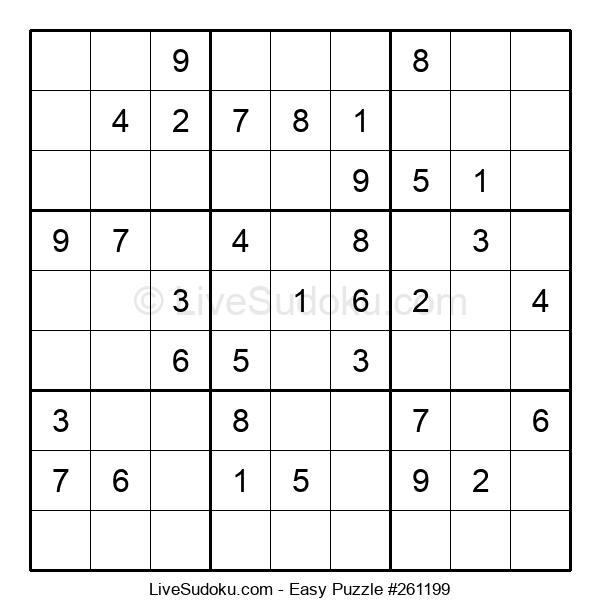 Beginners Puzzle #261199