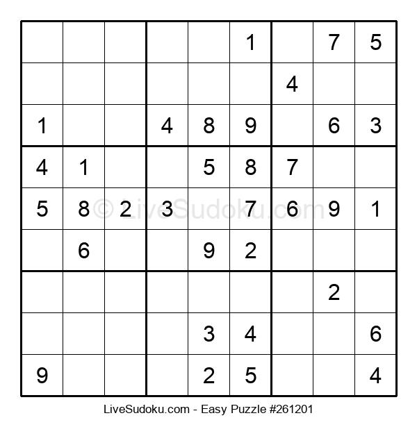 Beginners Puzzle #261201