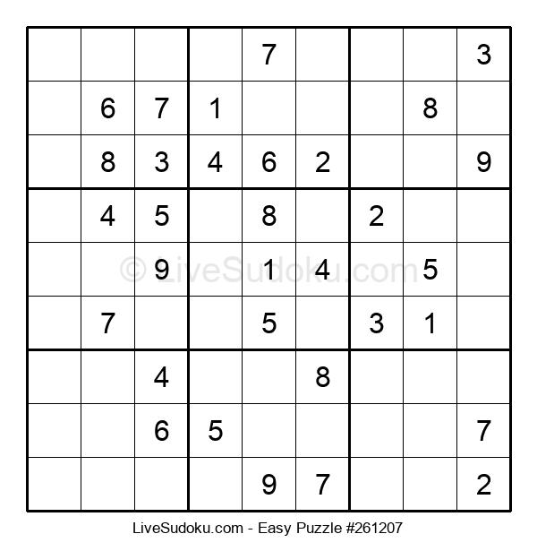Beginners Puzzle #261207