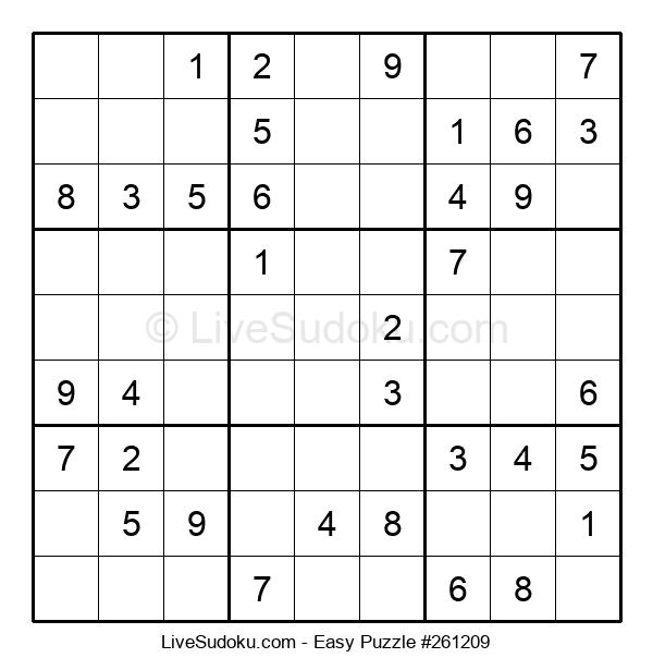 Beginners Puzzle #261209