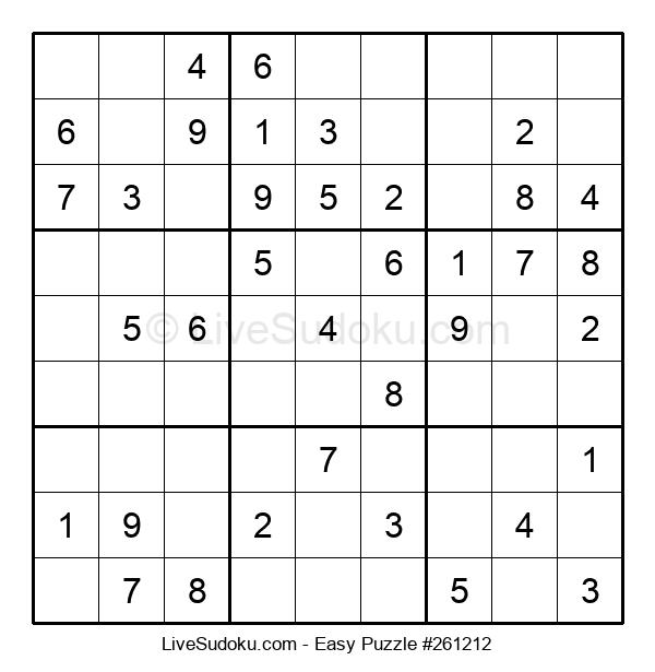 Beginners Puzzle #261212