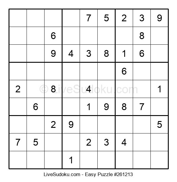 Beginners Puzzle #261213