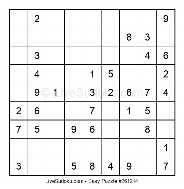 Beginners Puzzle #261214