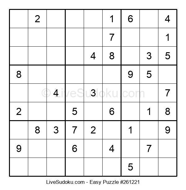 Beginners Puzzle #261221