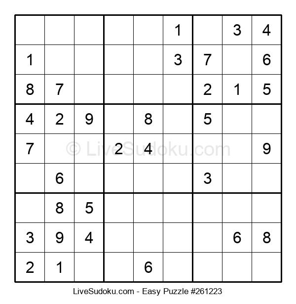 Beginners Puzzle #261223