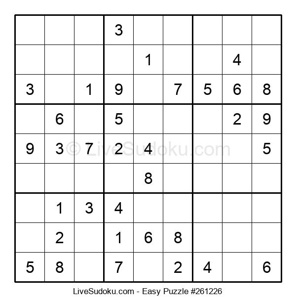 Beginners Puzzle #261226
