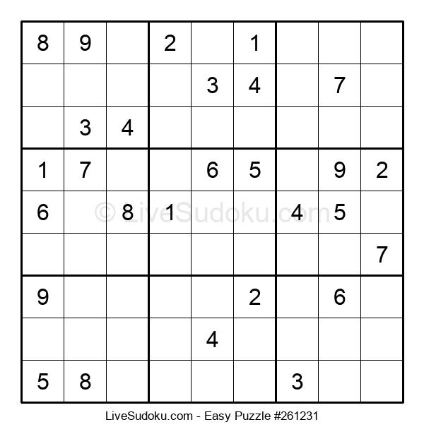 Beginners Puzzle #261231