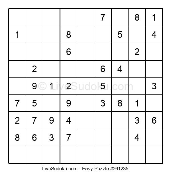 Beginners Puzzle #261235