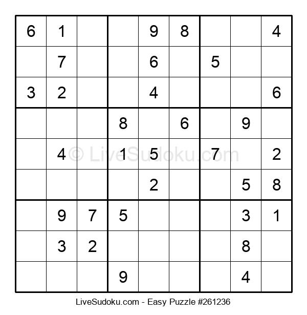 Beginners Puzzle #261236