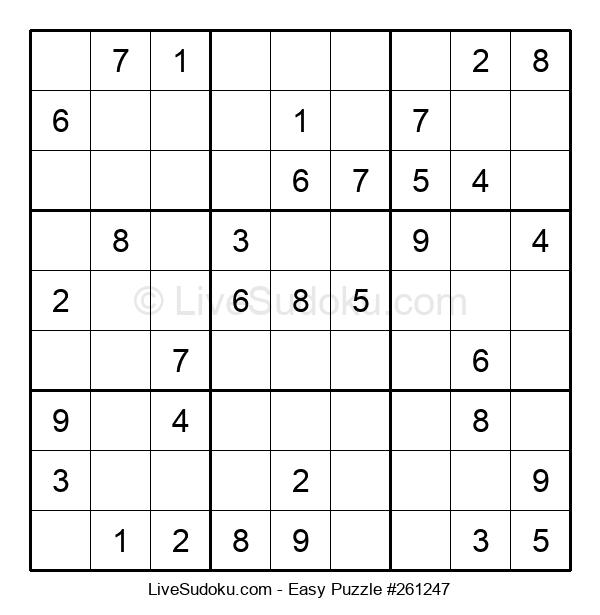 Beginners Puzzle #261247