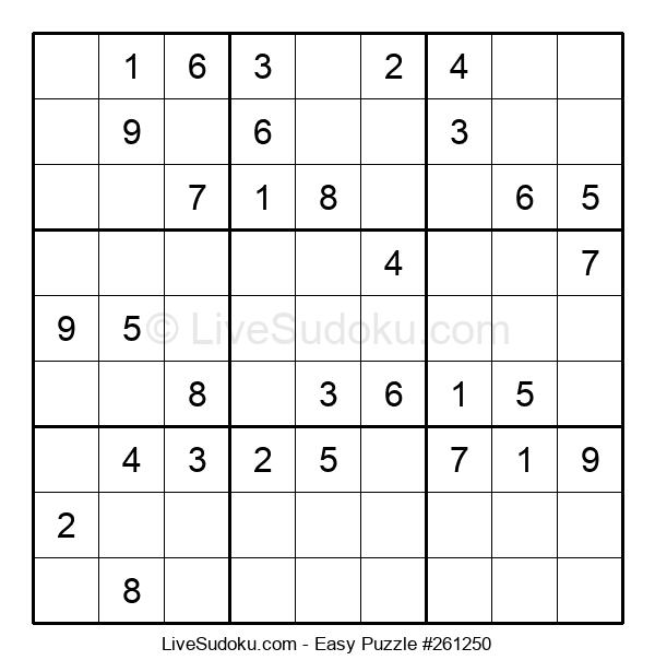 Beginners Puzzle #261250