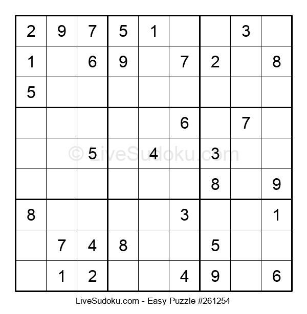 Beginners Puzzle #261254