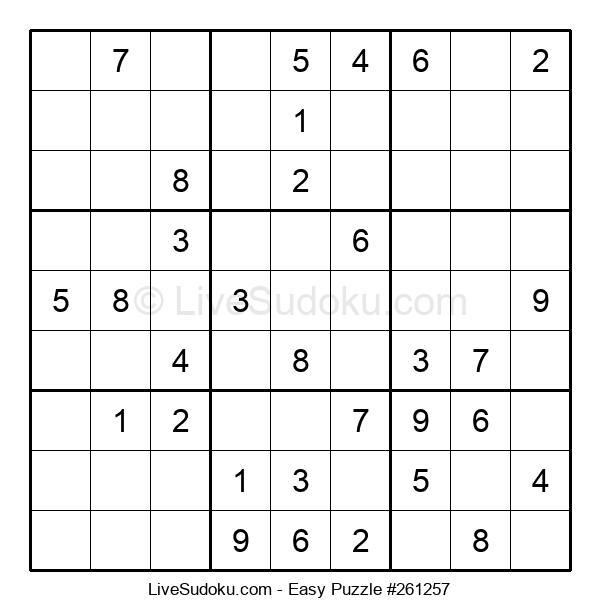 Beginners Puzzle #261257