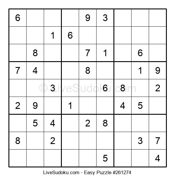 Beginners Puzzle #261274