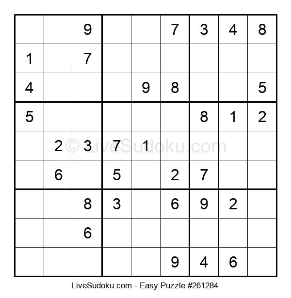 Beginners Puzzle #261284