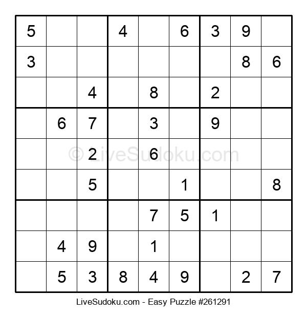 Beginners Puzzle #261291