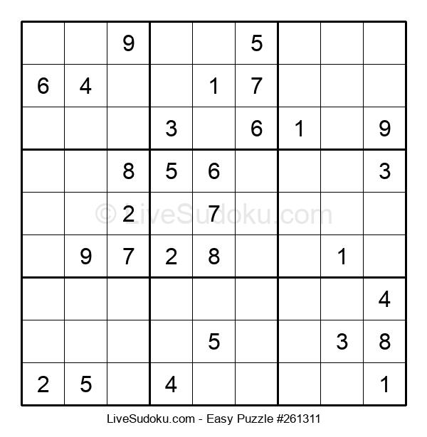 Beginners Puzzle #261311