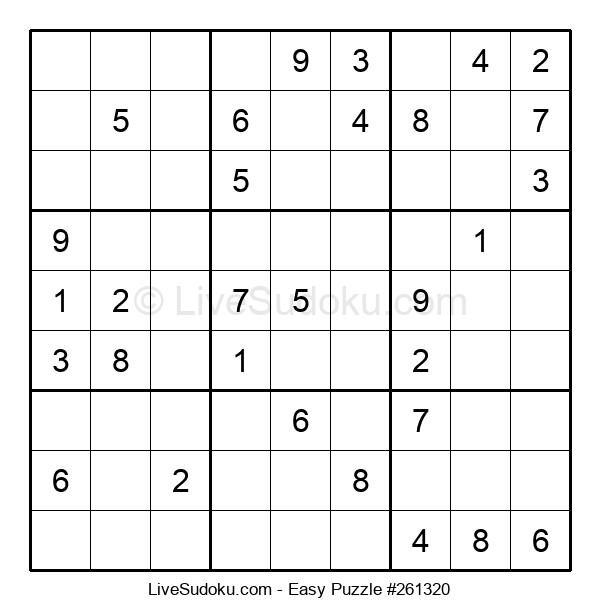 Beginners Puzzle #261320