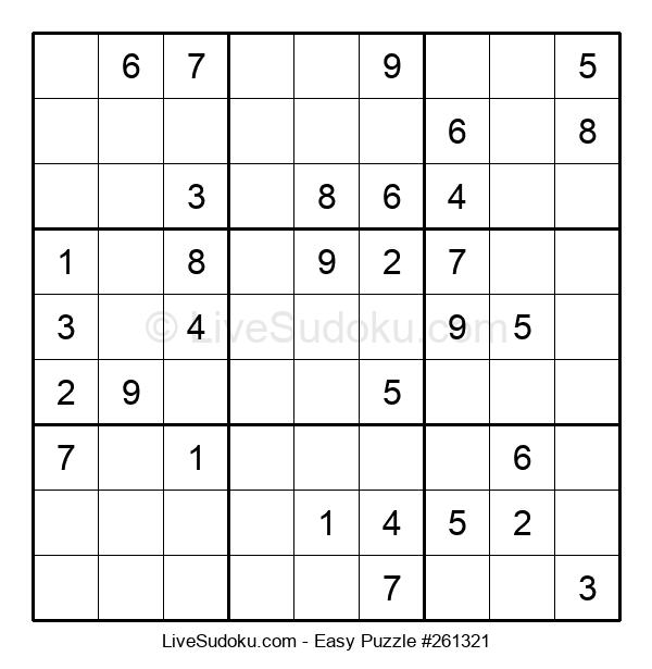 Beginners Puzzle #261321