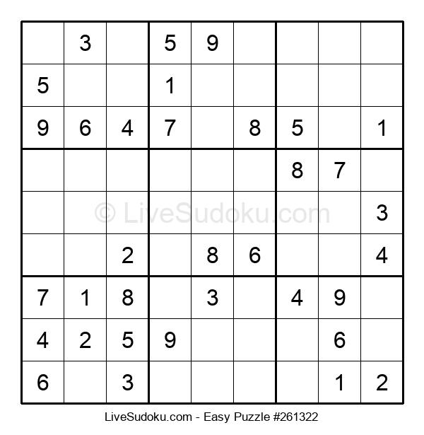 Beginners Puzzle #261322