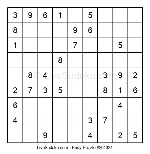 Beginners Puzzle #261324