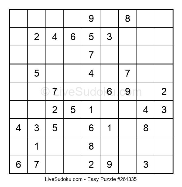 Beginners Puzzle #261335