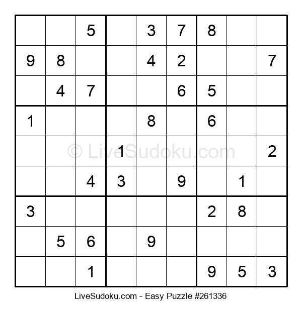 Beginners Puzzle #261336