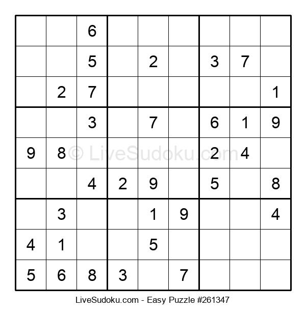 Beginners Puzzle #261347