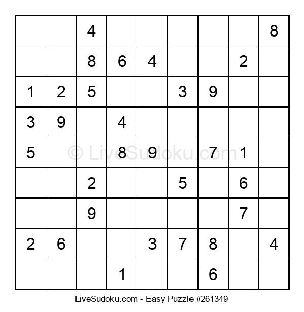 Beginners Puzzle #261349