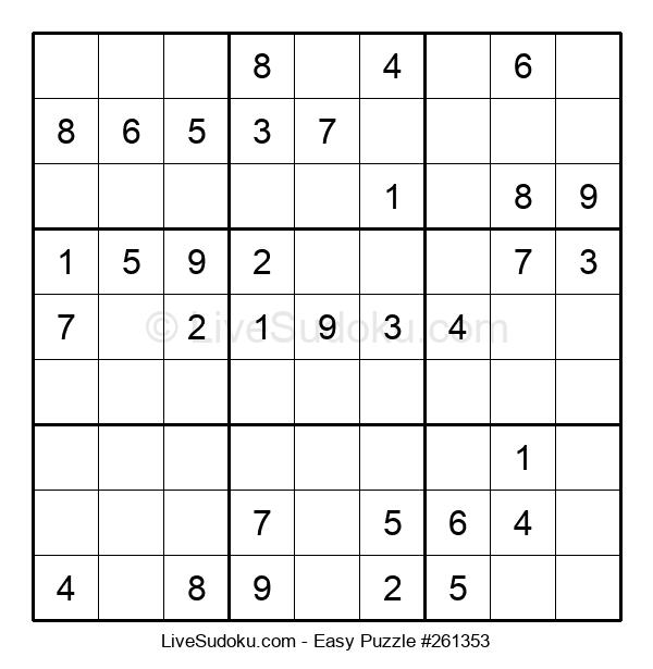 Beginners Puzzle #261353