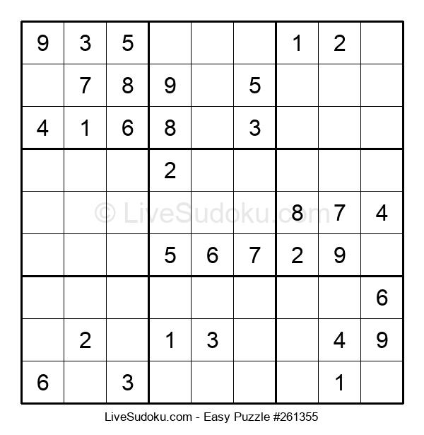Beginners Puzzle #261355