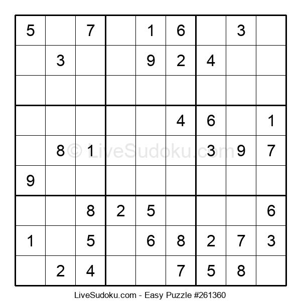 Beginners Puzzle #261360