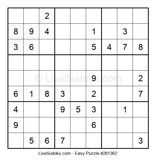 Beginners Puzzle #261362