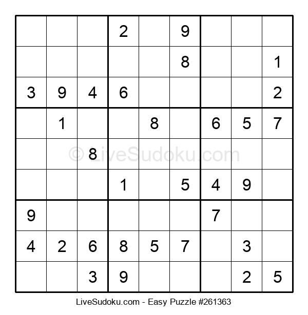 Beginners Puzzle #261363
