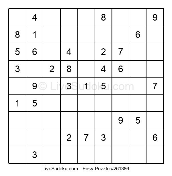 Beginners Puzzle #261386
