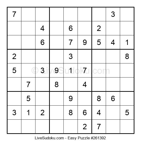 Beginners Puzzle #261392