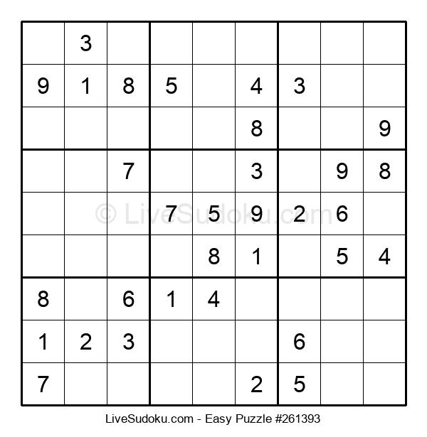 Beginners Puzzle #261393